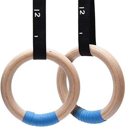 PACEARTH Wooden Gymnastics Rings if you're looking for durable and reliable gymnastic rings that can keep you safe and comfortable during challenging workouts