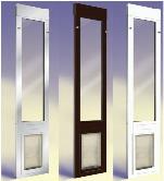 dog door for glass door