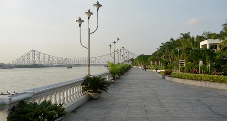 millennium park romantic places in kolkata