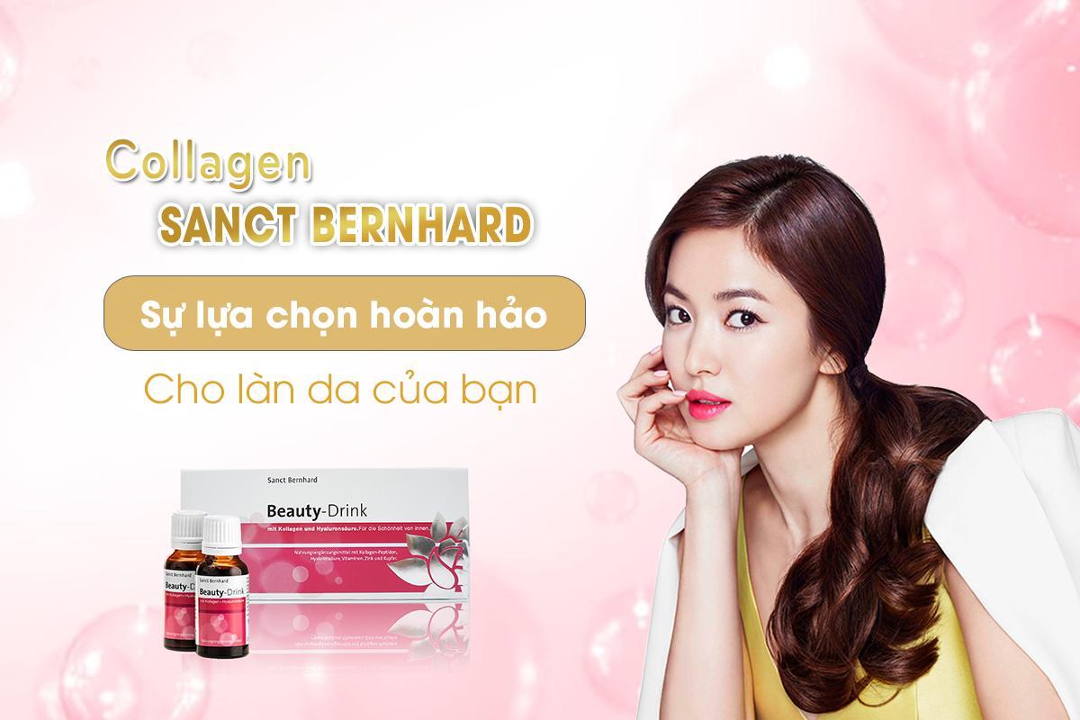 Collagen Uống Sanct Bernhard là sự lựa chọn hoàn hảo cho làn da