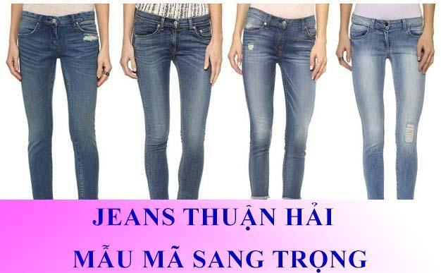 Quần jeans Thuận Hải được bạn trẻ tin dùng
