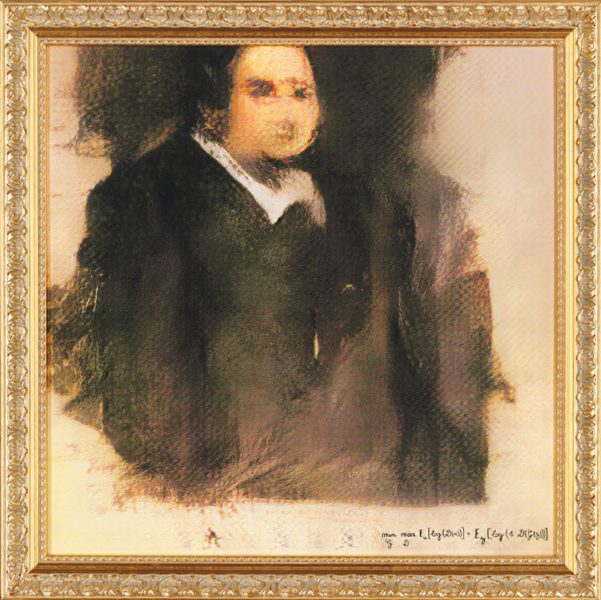 Tranh vẽ bởi AI có giá bán hàng chục ngàn euro khiến giới nghệ thuật choáng váng - Ảnh 1.