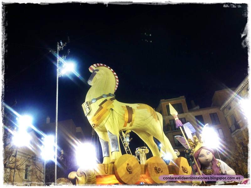 Na Jordana 2013 - Odisea - Caballo de Troya