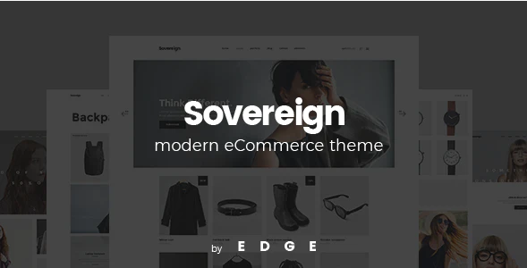 9. Sovereign - Minimal Fashion & Clothing Store Theme