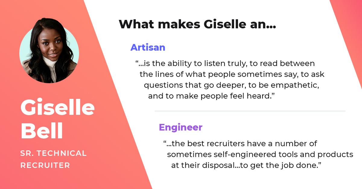giselle bell senior technical recruiter