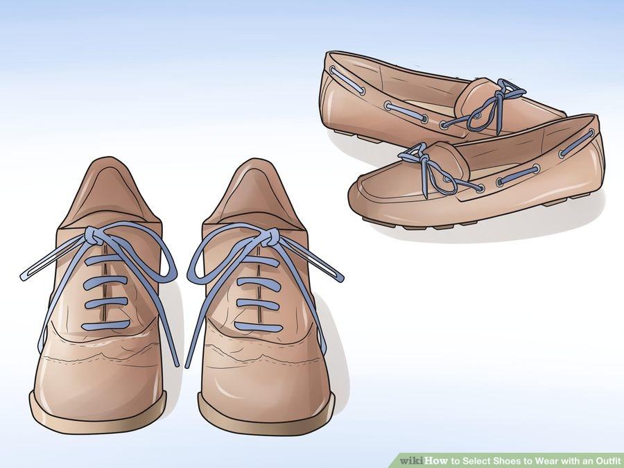 Como escolher quais sapatos usar Parte 07