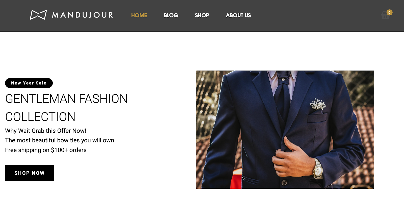 Gentleman Fashion Collection: Mandujour