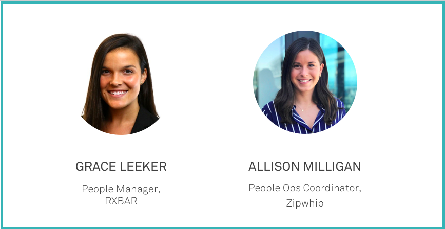 Two talent leaders who've mastered the onboarding process