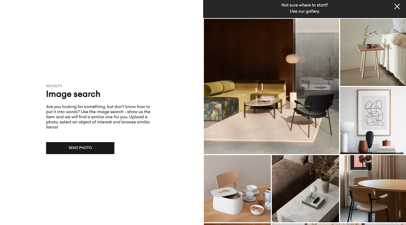 Yestersen's visual search tool