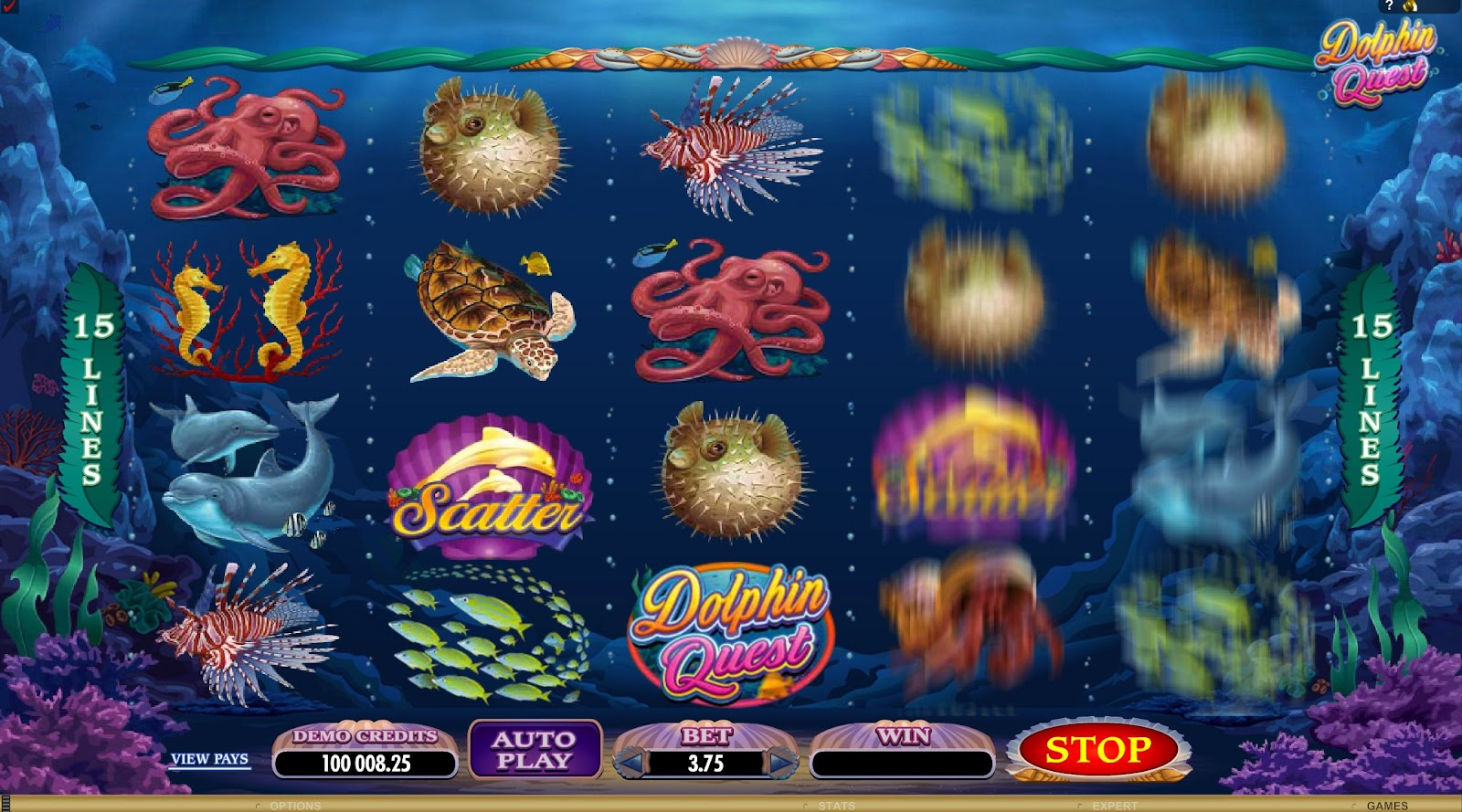 Dolphin Quest Slots Game Review