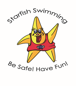 Starlet the Starfish Swimming Lessons mascot. Click the image to view more information about our Swimming Lessons