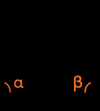треугольник с двумя отмеченными углами