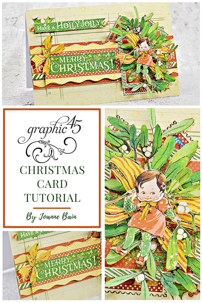 G45Card - Christmas Card Tutorial