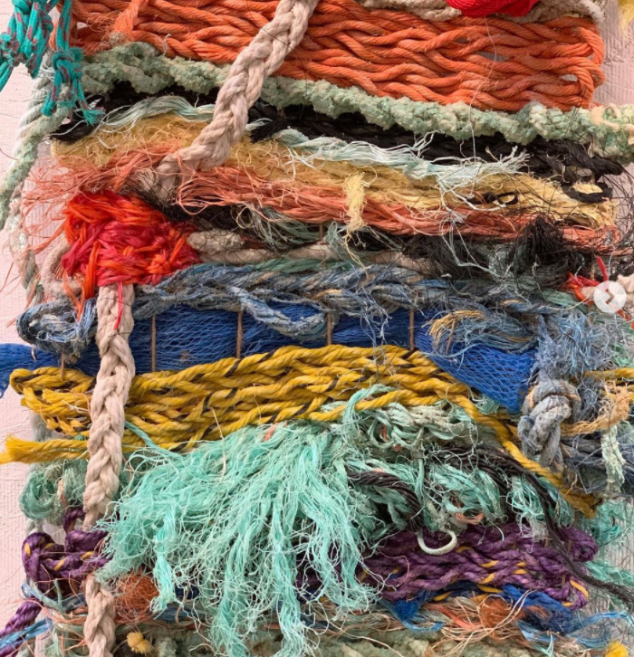 recycled fibers knit