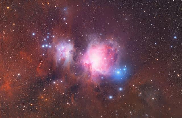 تصوير الكواكب والنجوم من الارض