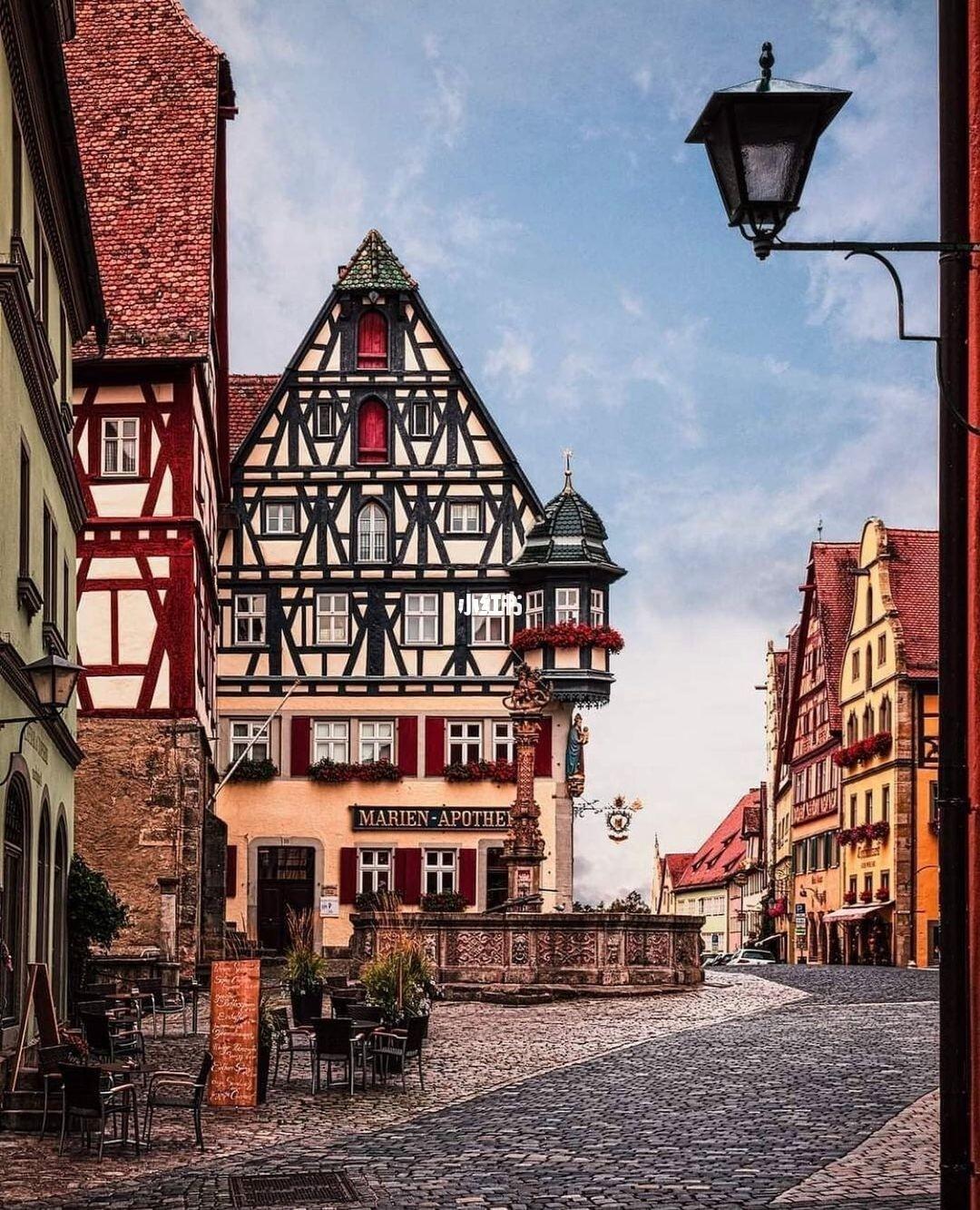 德国中世纪小镇