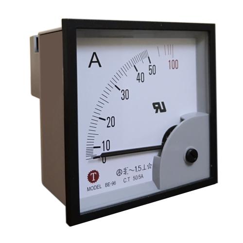 Đồng hồ đo dòng điện (Ampe kế) BE-96 50/5A Taiwan Meter