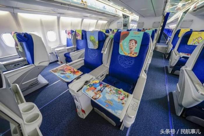 DISNEY, 迪士尼, 中國, 反斗奇兵, 東方航空, 聯乘客機