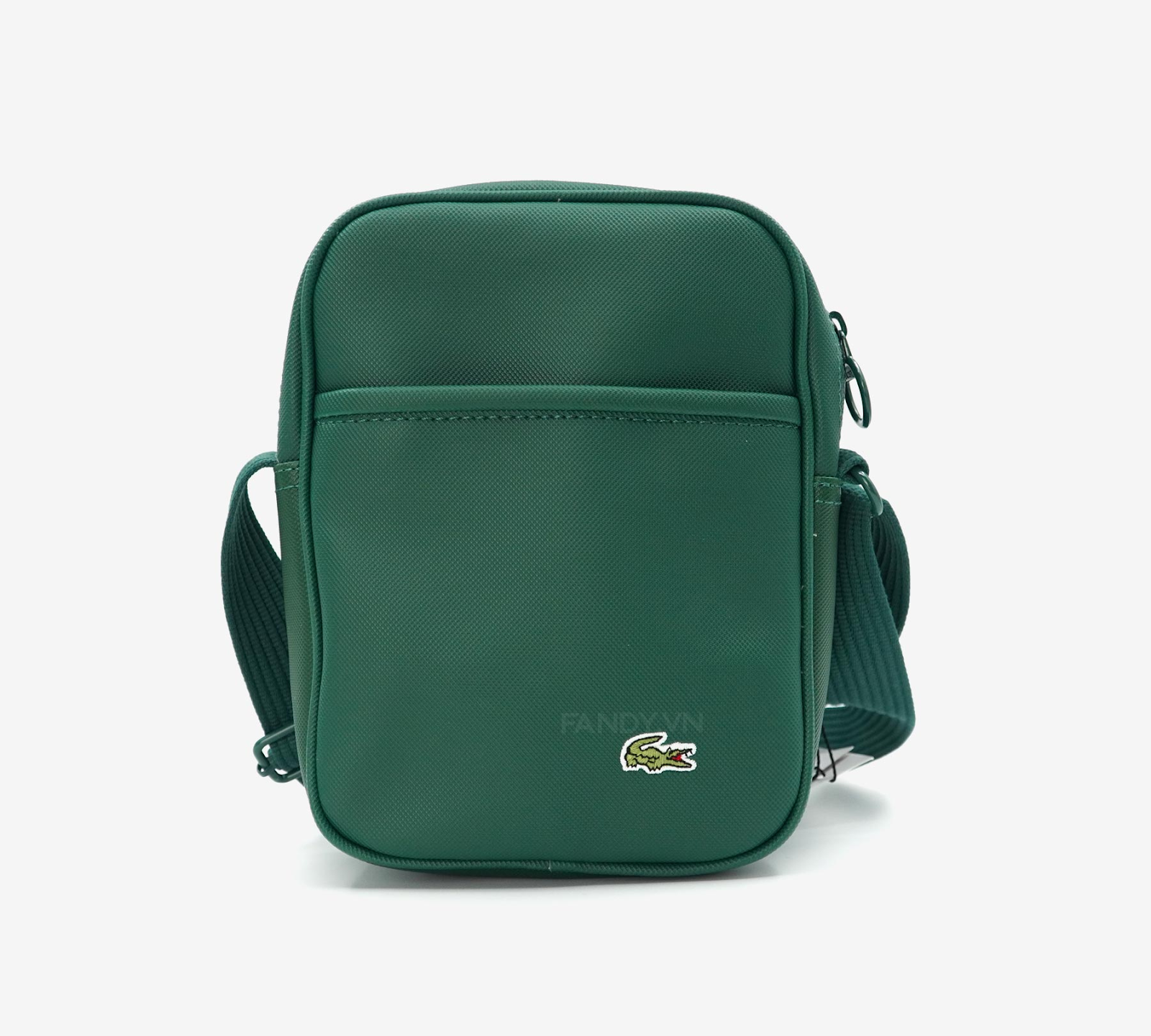 TÚI LACOSTE NEOCROC CANVAS GREEN