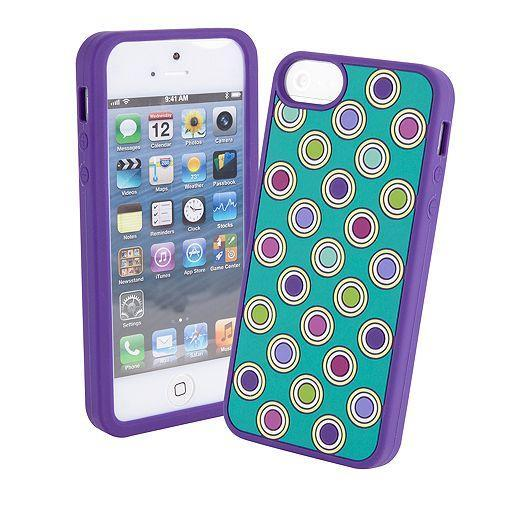 Soft Frame Case for iPhone 5 in Heather