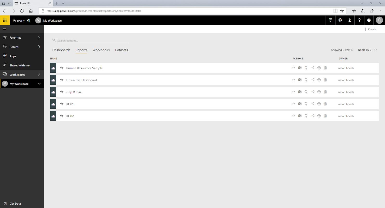 Interactive Dashboard In Microsoft Power BI 69