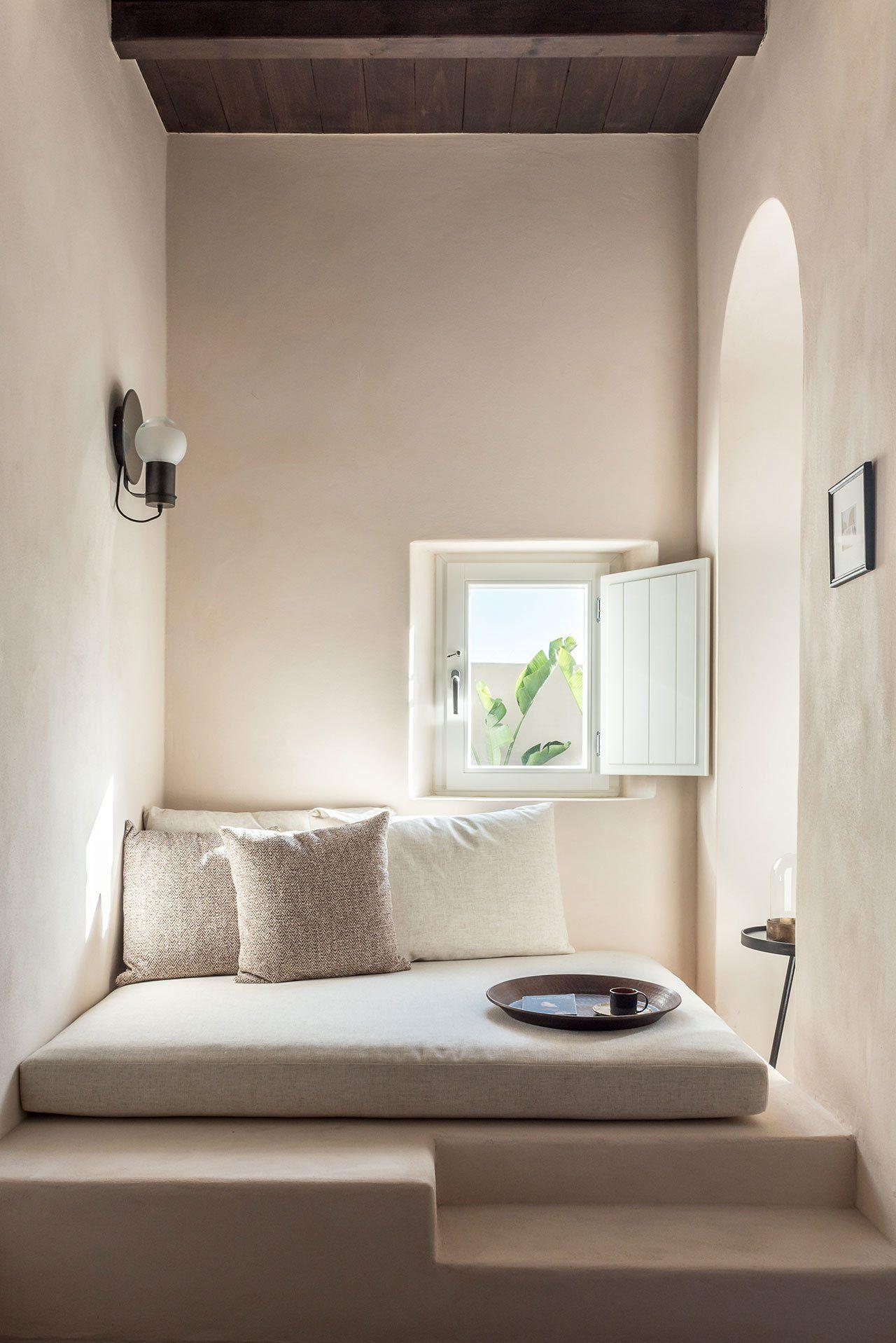 Mediterranean Minimalist Bedroom