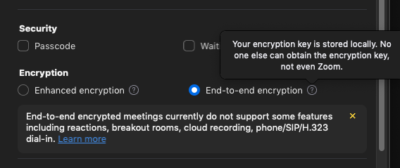 Zoom Rolling Out End-to-End Encryption Offering - Zoom Blog