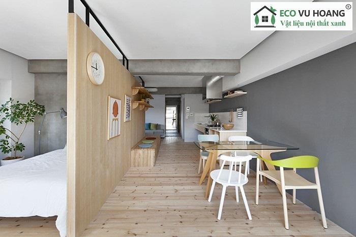 Vật liệu nội thất tại Eco Vu Hoang