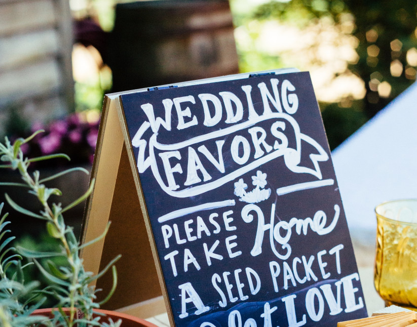 Are You Giving Out Wedding Favors?