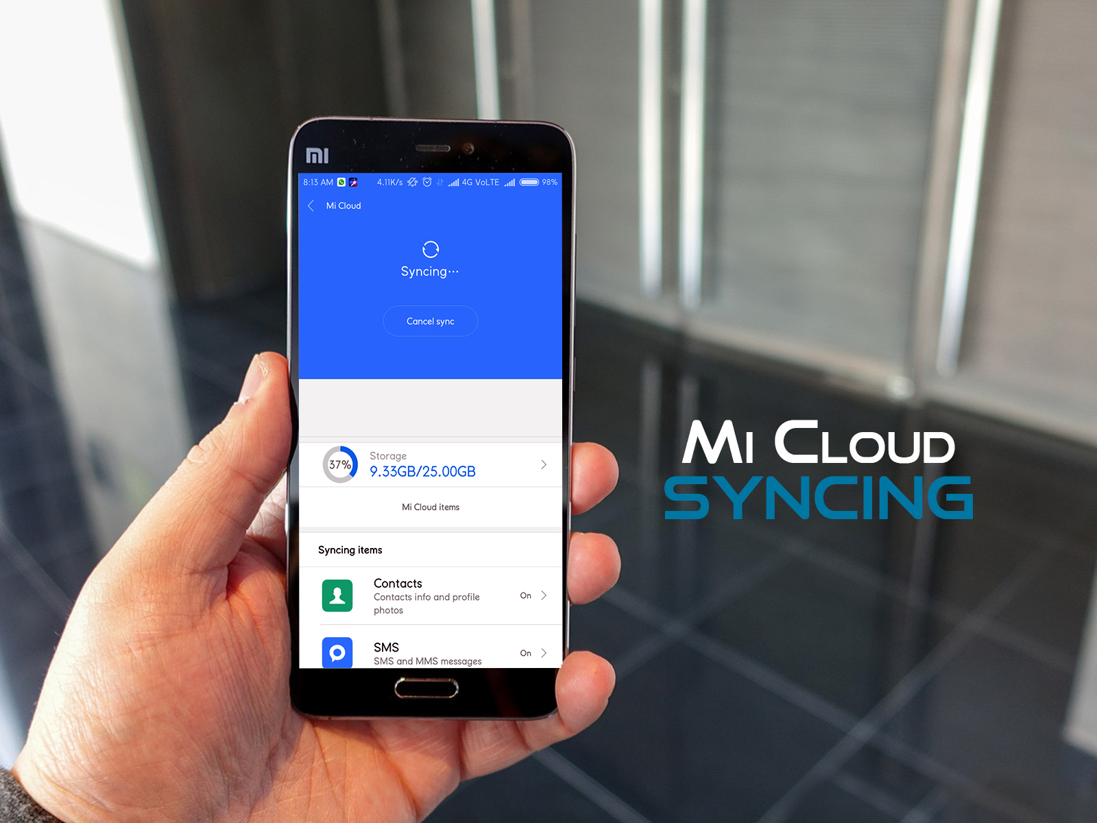 All you need to know about Sync - Tips & Tricks - Mi