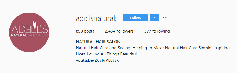 Adells Naturals Instagram Marketing