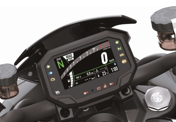 Kawasaki Z-H2 2020 สุดยอดรถจักรยานยนต์ไฮเปอร์ไบค์3