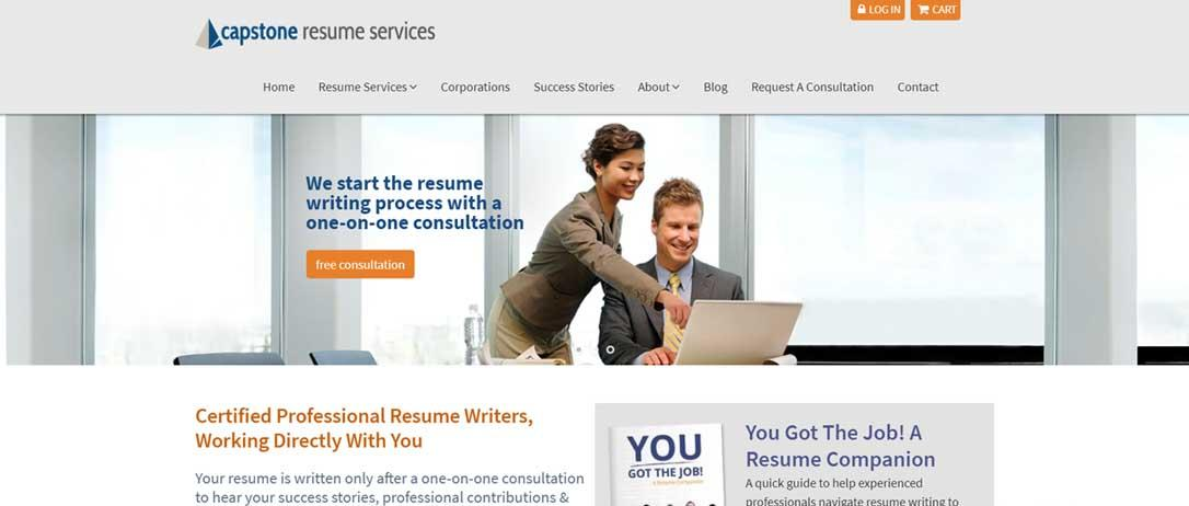 Best Resume Writers: Capstone Resume Services..