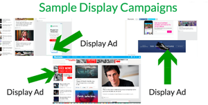 Sample of Display Ads are Shown in Figure.