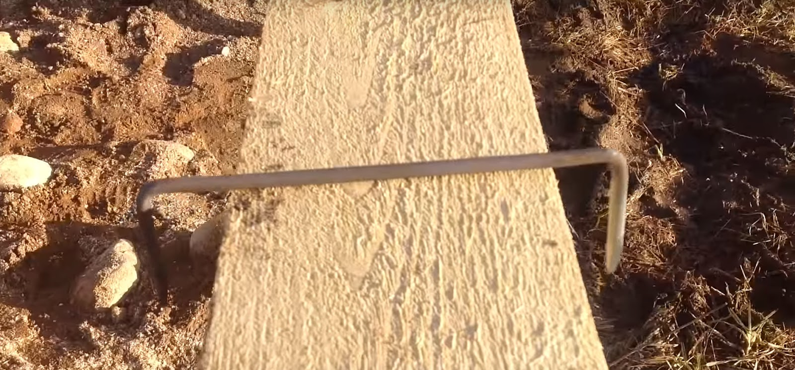 грунт доска металлическое крепление