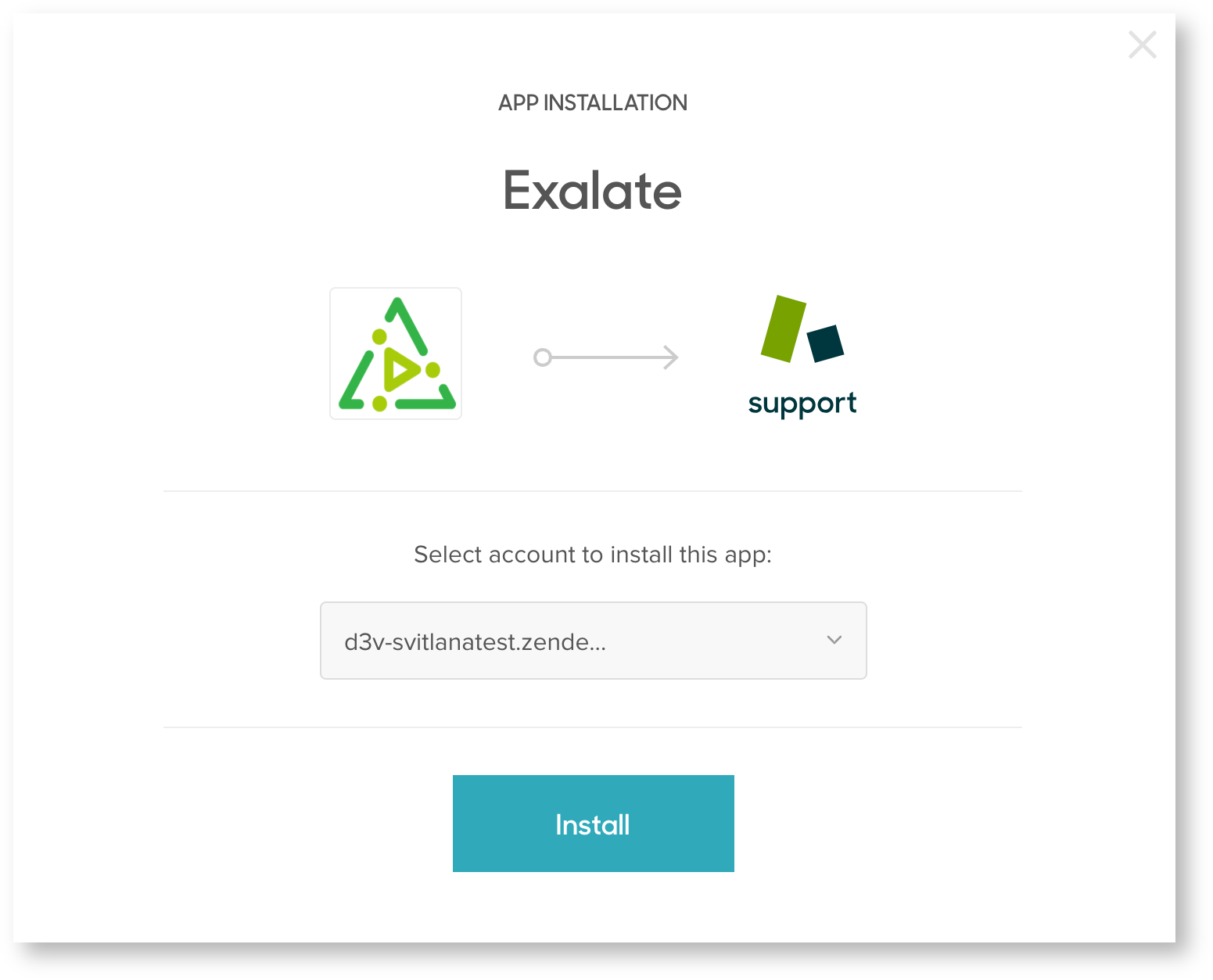 exalate for Zendesk