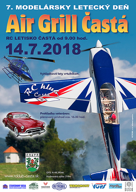 Prihláška na Air Grill Častá 2018