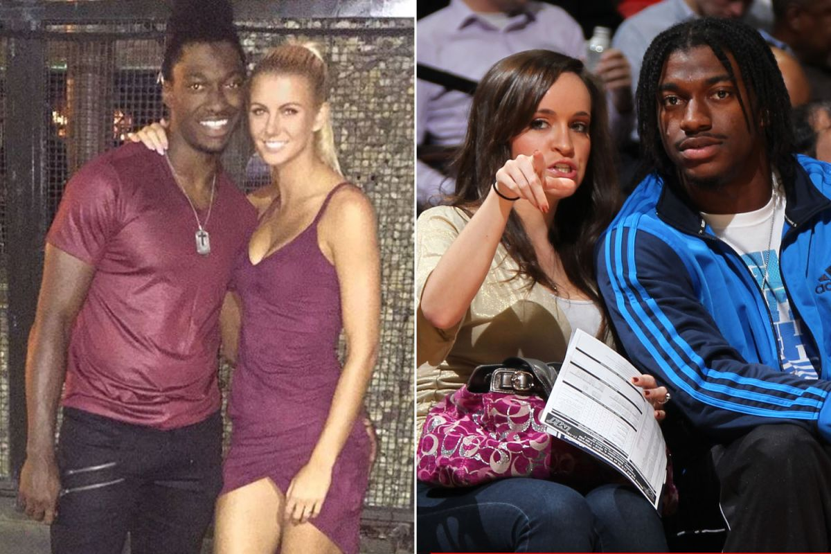 RG3 and his new girl