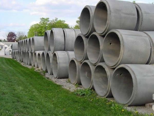 Железобетонные кольца для колодца и канализации
