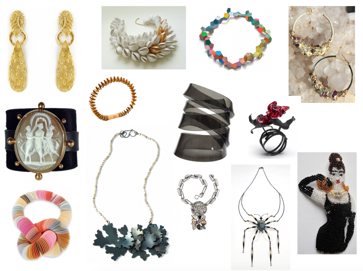 Karen Klopp and Hilary Dick article for New York Social Diary, New York Loot mad about Jewelry.