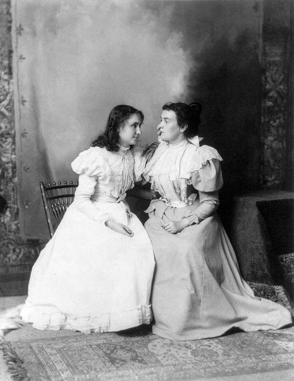 Helen Keler i Anne Sullivan