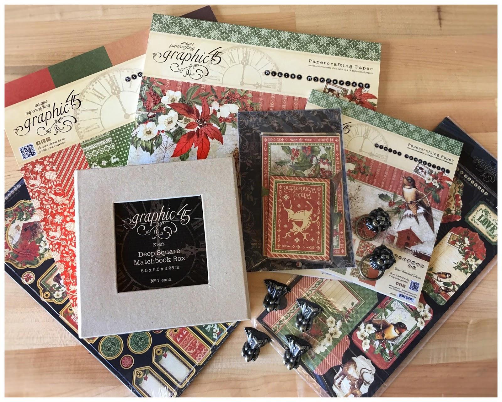 Winter Wonderland, Deep Square Matchbook Box, Claw Feet, Knockers, $84 value.jpeg