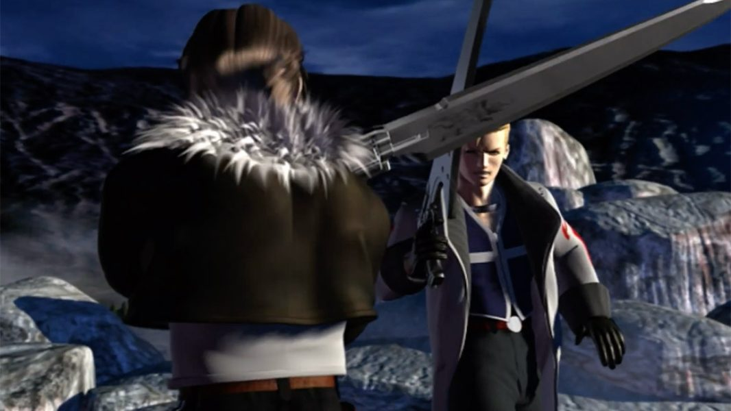 Final Fantasy VIII is not a top PS1 RPG - Giant sword battle