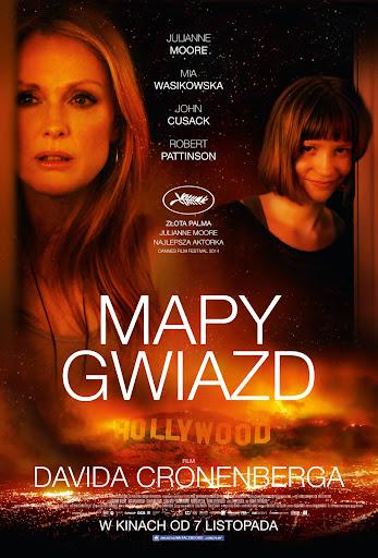 Polski plakat filmu 'Mapy Gwiazd'
