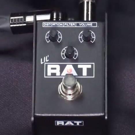 ค่าย ProCo เปิดตัวเอฟเฟคกีต้าร์ distortion รุ่นใหม่ล่าสุด Lil'rat 1