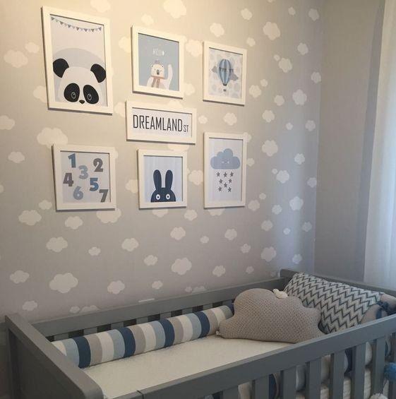 Decorar quarto de bebê menino
