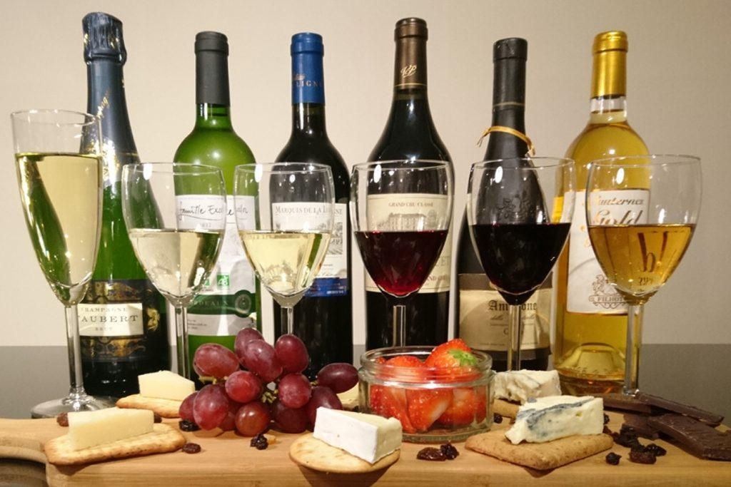 Rượu vang - niềm cảm hứng của cuộc sống, Rượu vang nhập khẩu