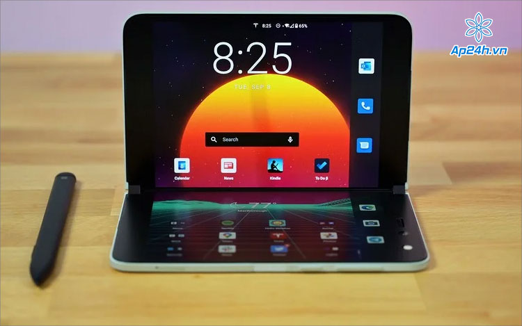 Surface Duo màn hình gập cảm ứng