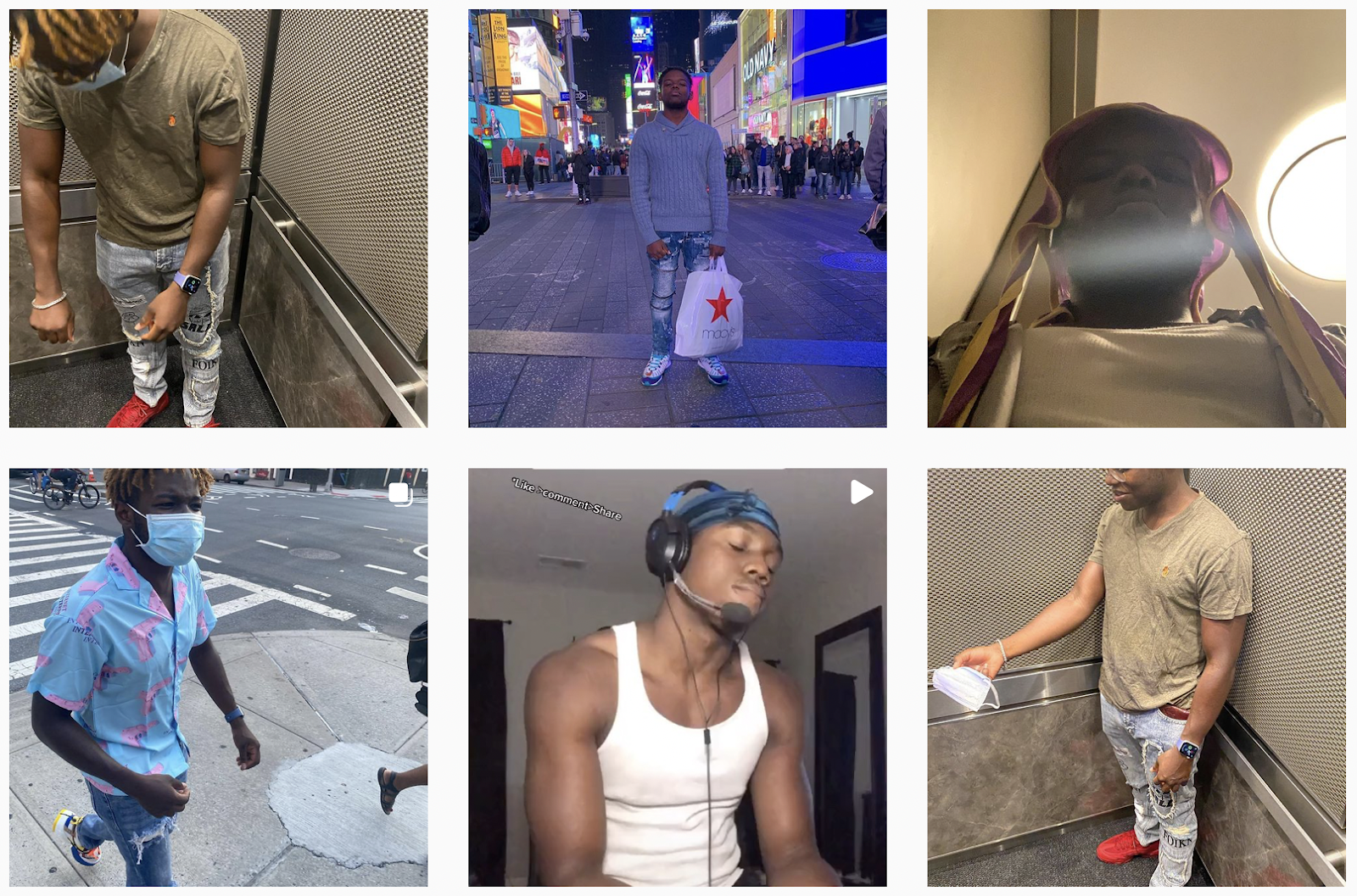 Leandre Bowen | Instagram Gallery | Fashion Micro-influencer Featured on Afluencer
