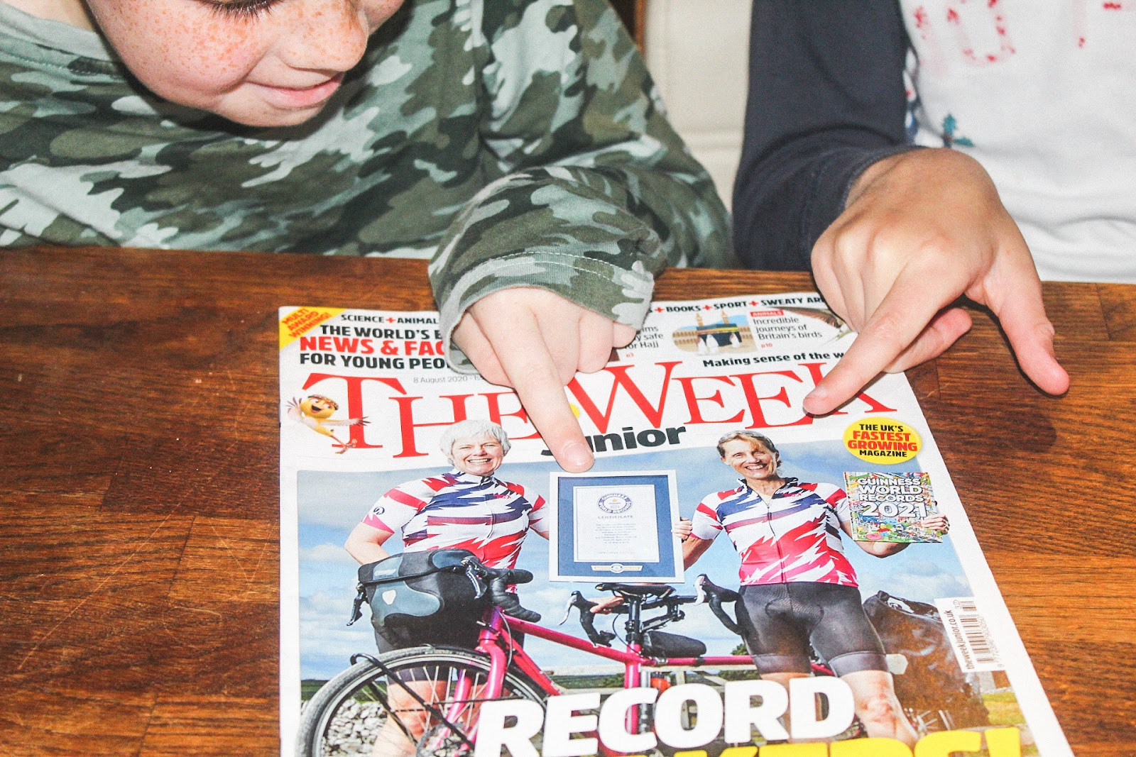 AD Reading The Week Junior! In partnership with mumsnet